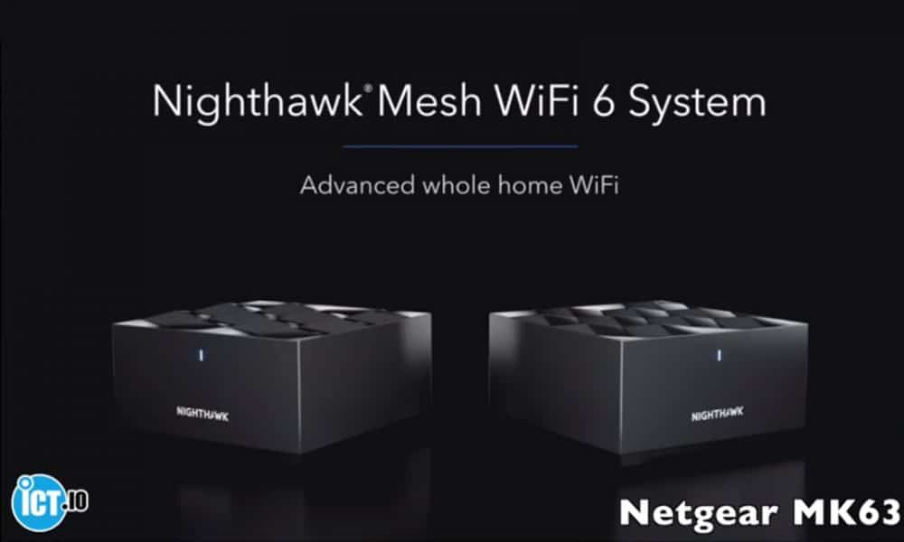 Review Netgear Nighthawk router Mk63