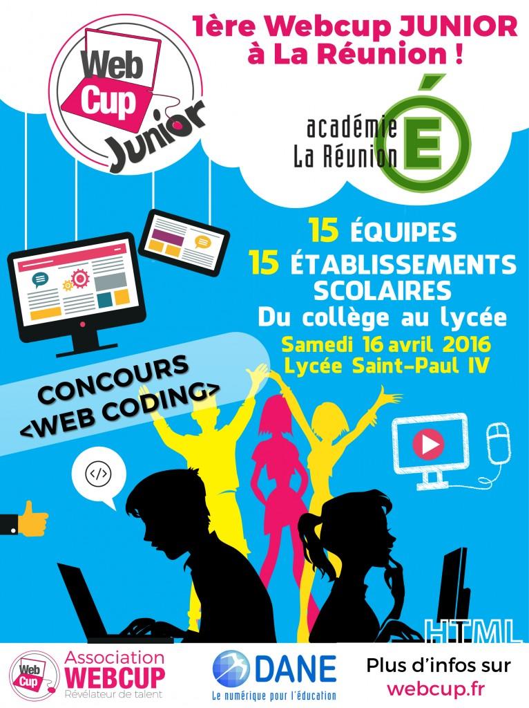 Webcup junior La Réunion