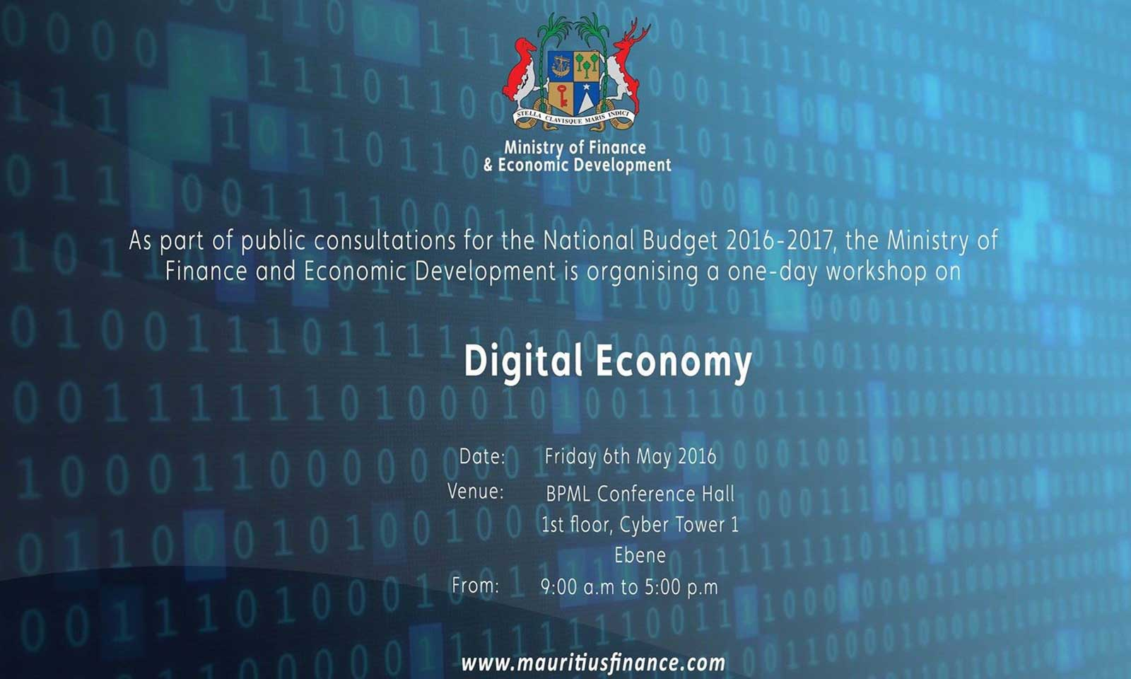 Digital Economy Workshop