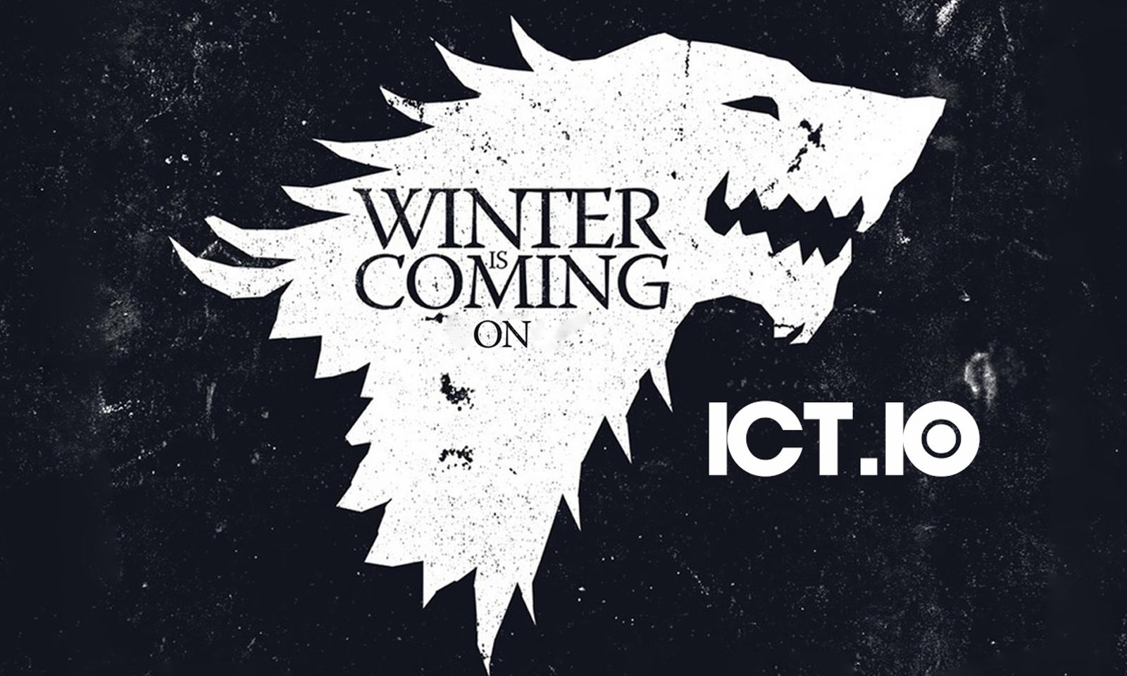 Winter is coming on ict.io