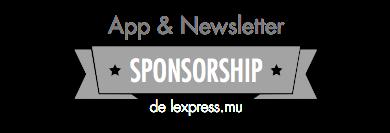 App & Newsletter Sponsorship