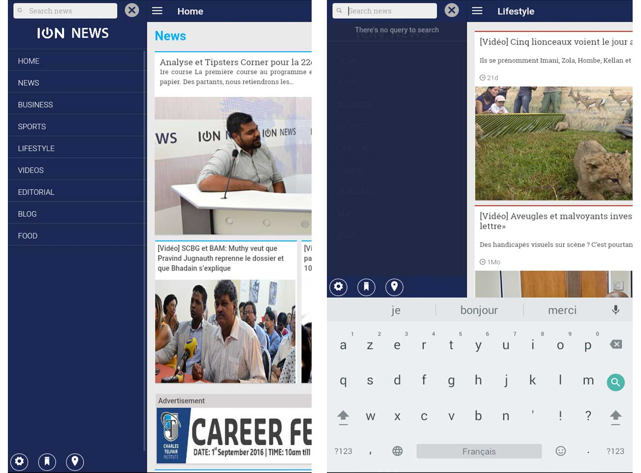 ION News app