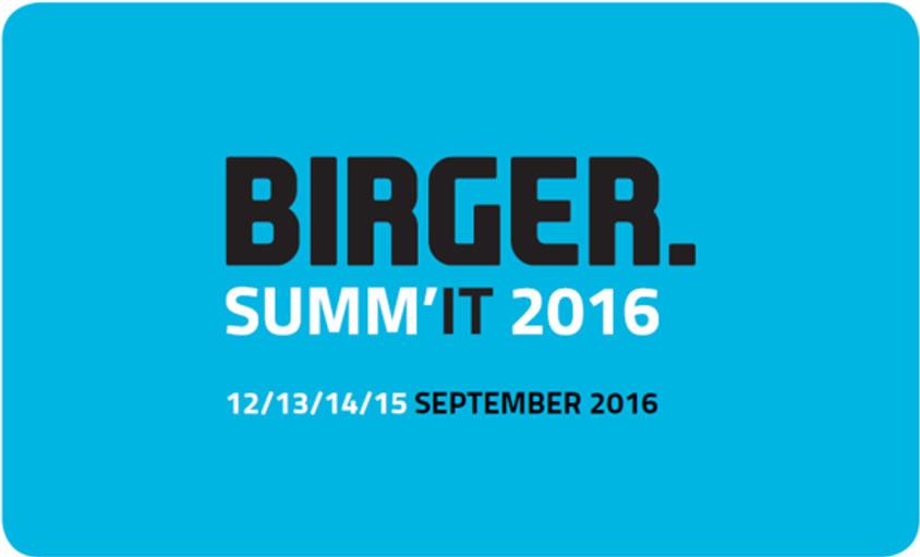 « BIRGER. SUMM'IT 2016 »