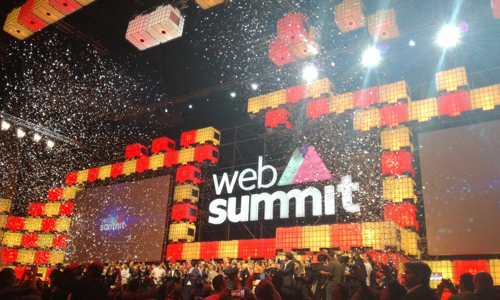 Web summit opening