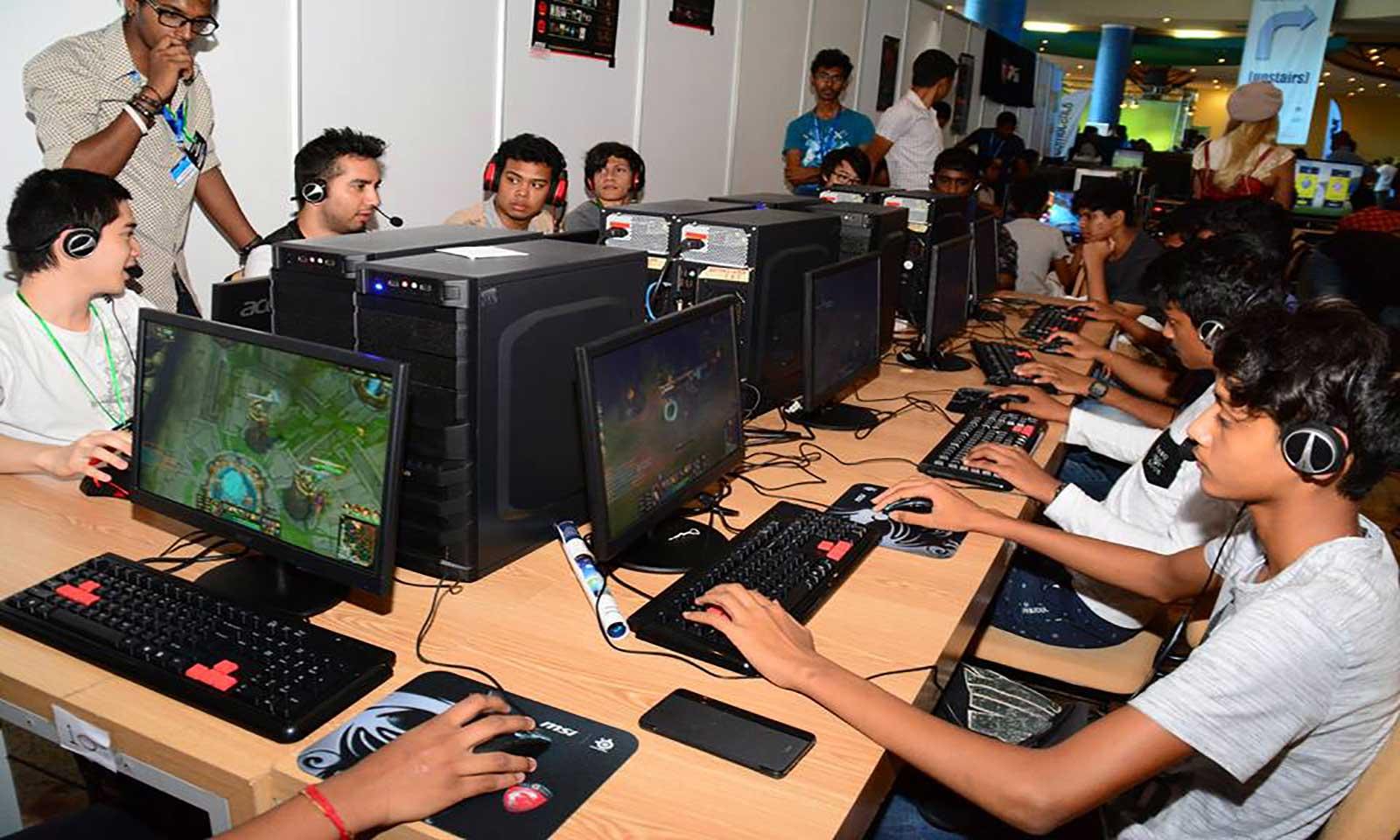 Lan gaming Infotech 2016
