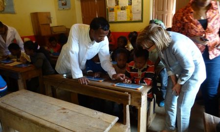 L'association Orange Solidarité Madagascar