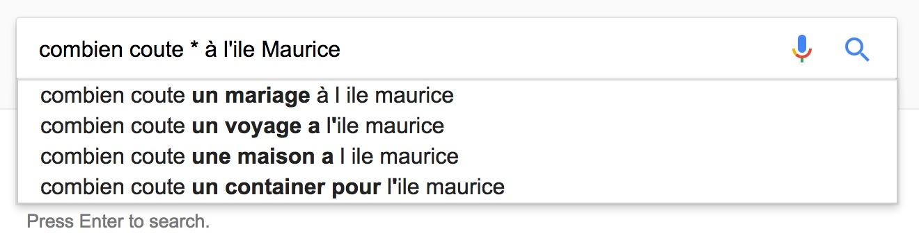 Test Maurice