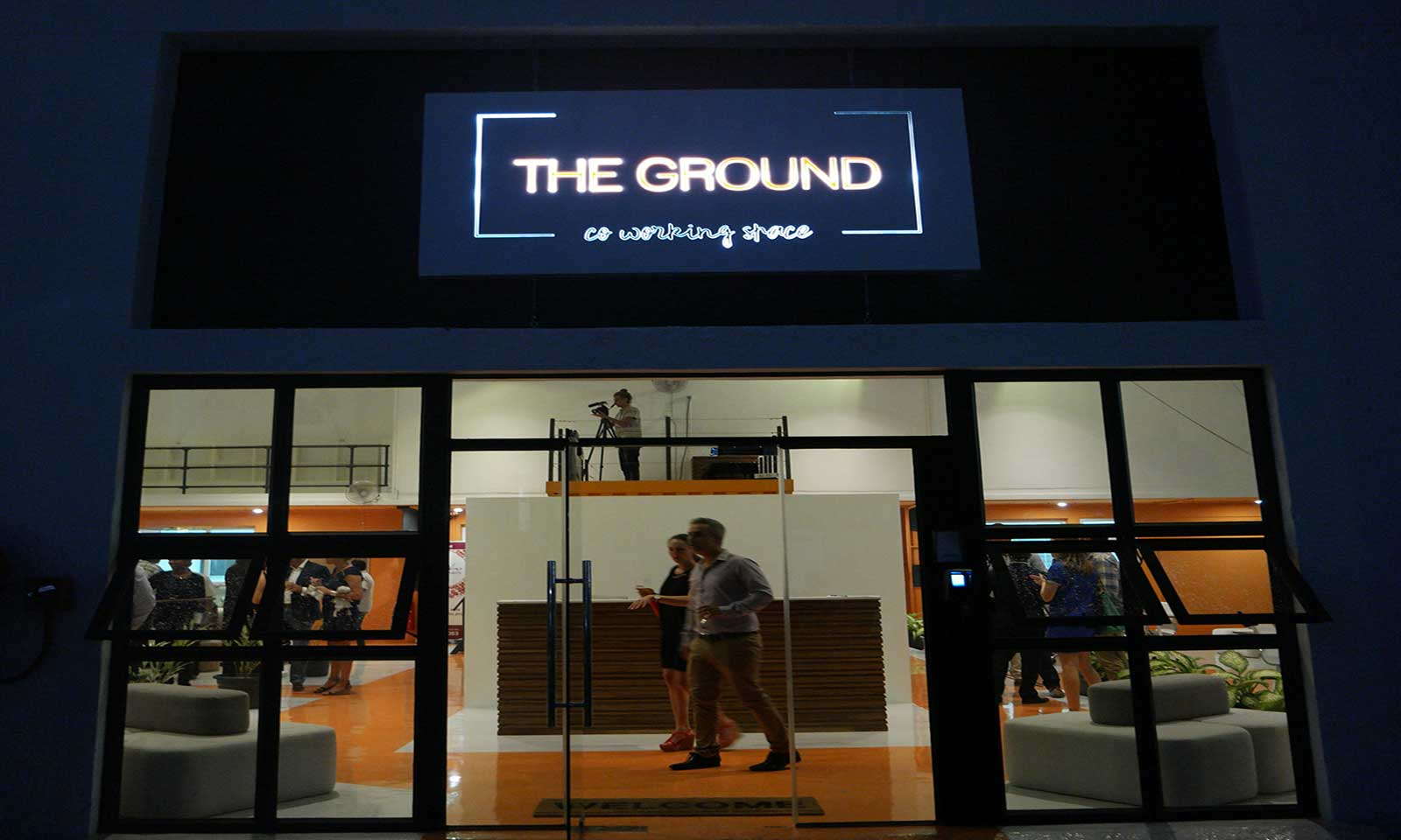 The ground coworking space le nouveau lieu en vogue pour for Nouveau commerce en vogue
