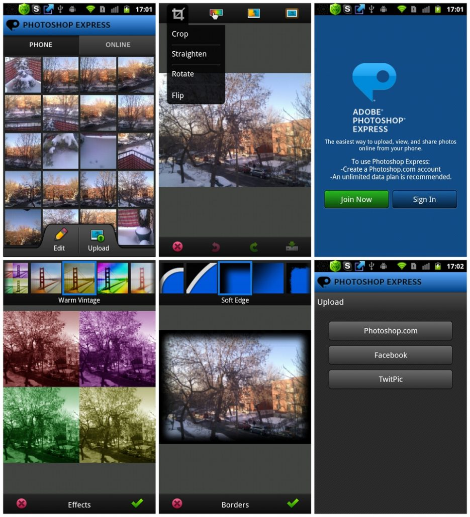 Available for Android, iOS and Windows tablets and phones, this surprisingly capable app allows you to enhance and tweak your photos in a …Adobe Photoshop Express is an application that lets you edit and share your photos in no time. Programs for query ″adobe photoshop express for mac os″ Icon MachineAdobe Photoshop Elements 2019 [Mac ...