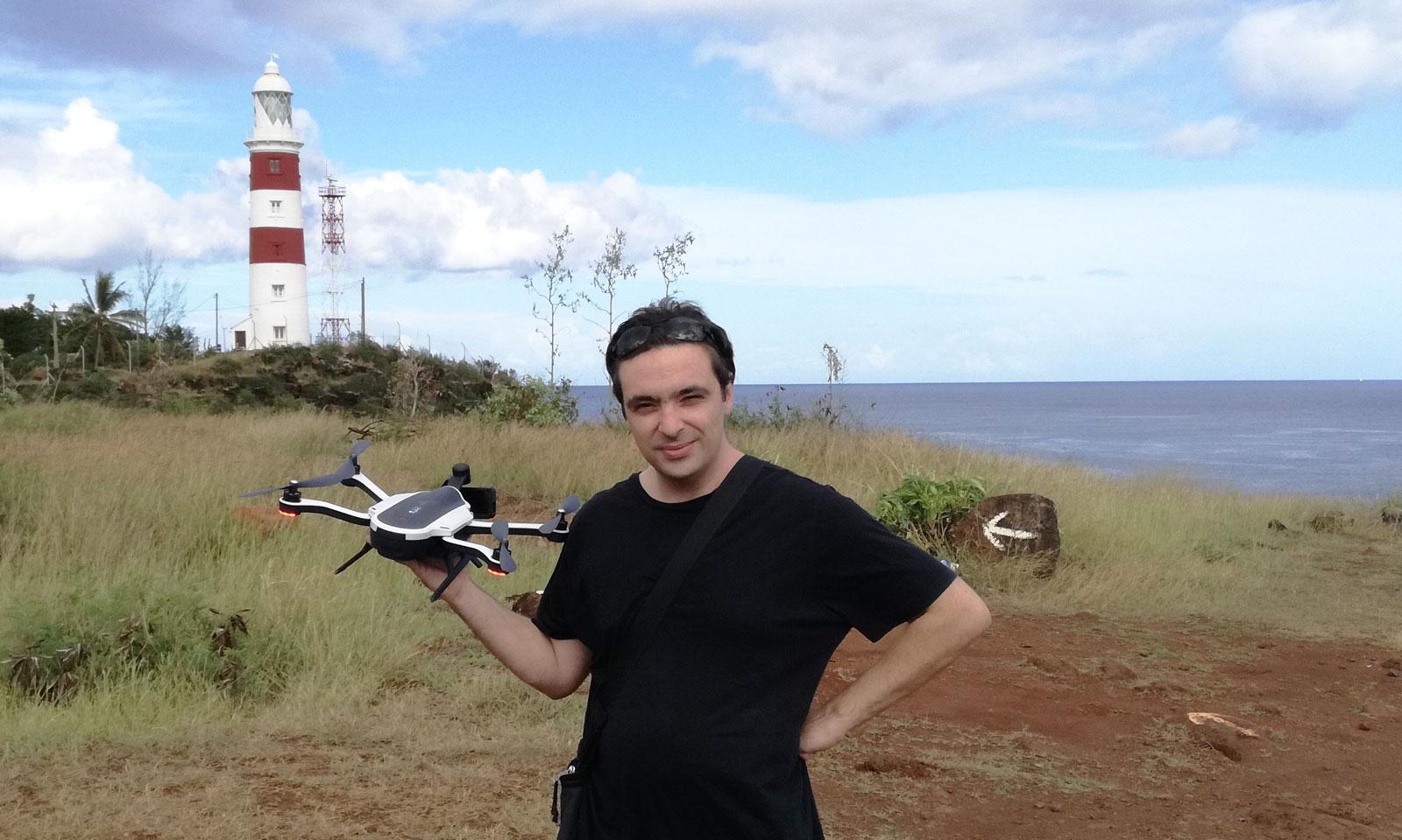 Test drone gopro karma ile maurice
