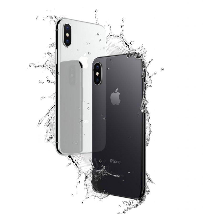 iphone X resiste à l'eau