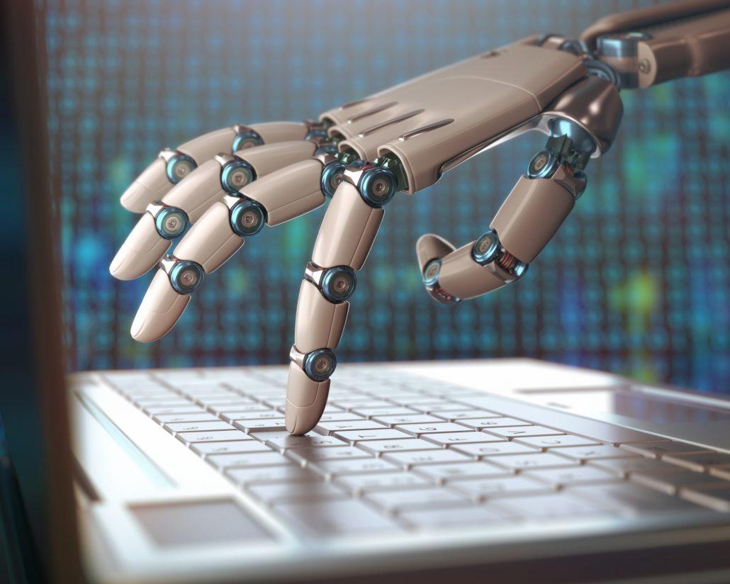l'utilisation des robots