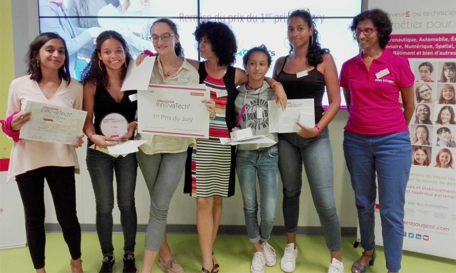 Innovatech Réunion : le ver connecté remporte la victoire