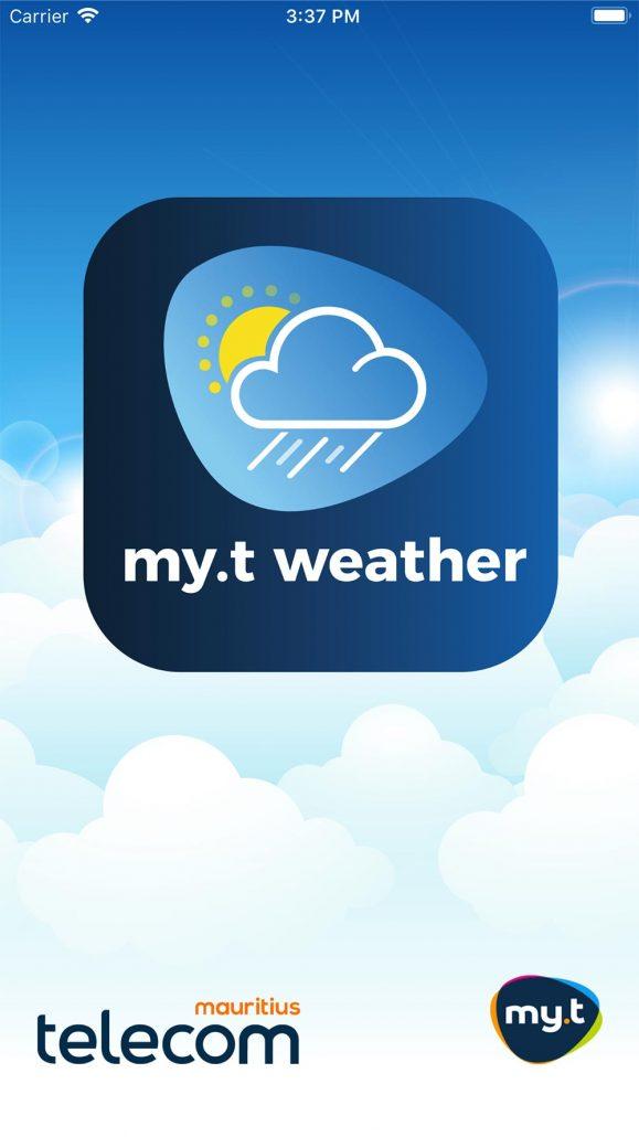 My.t Weather App : tout savoir du temps qu'il fait à l'île Maurice
