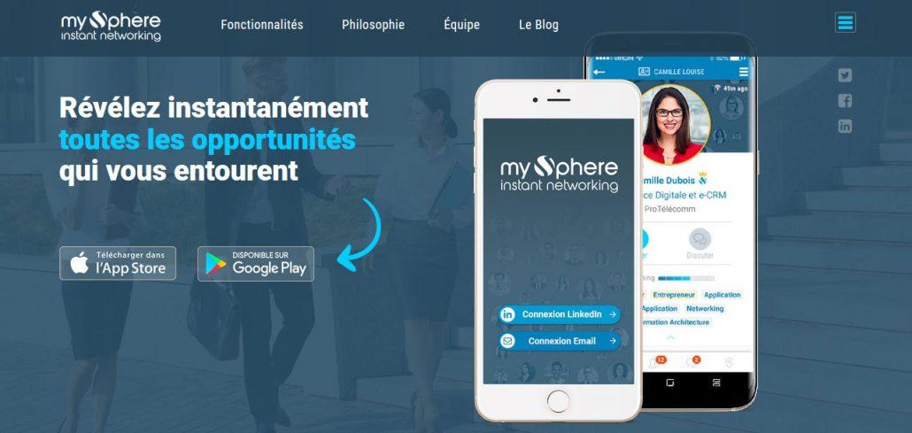 Élargissez votre réseau avec MySphere !
