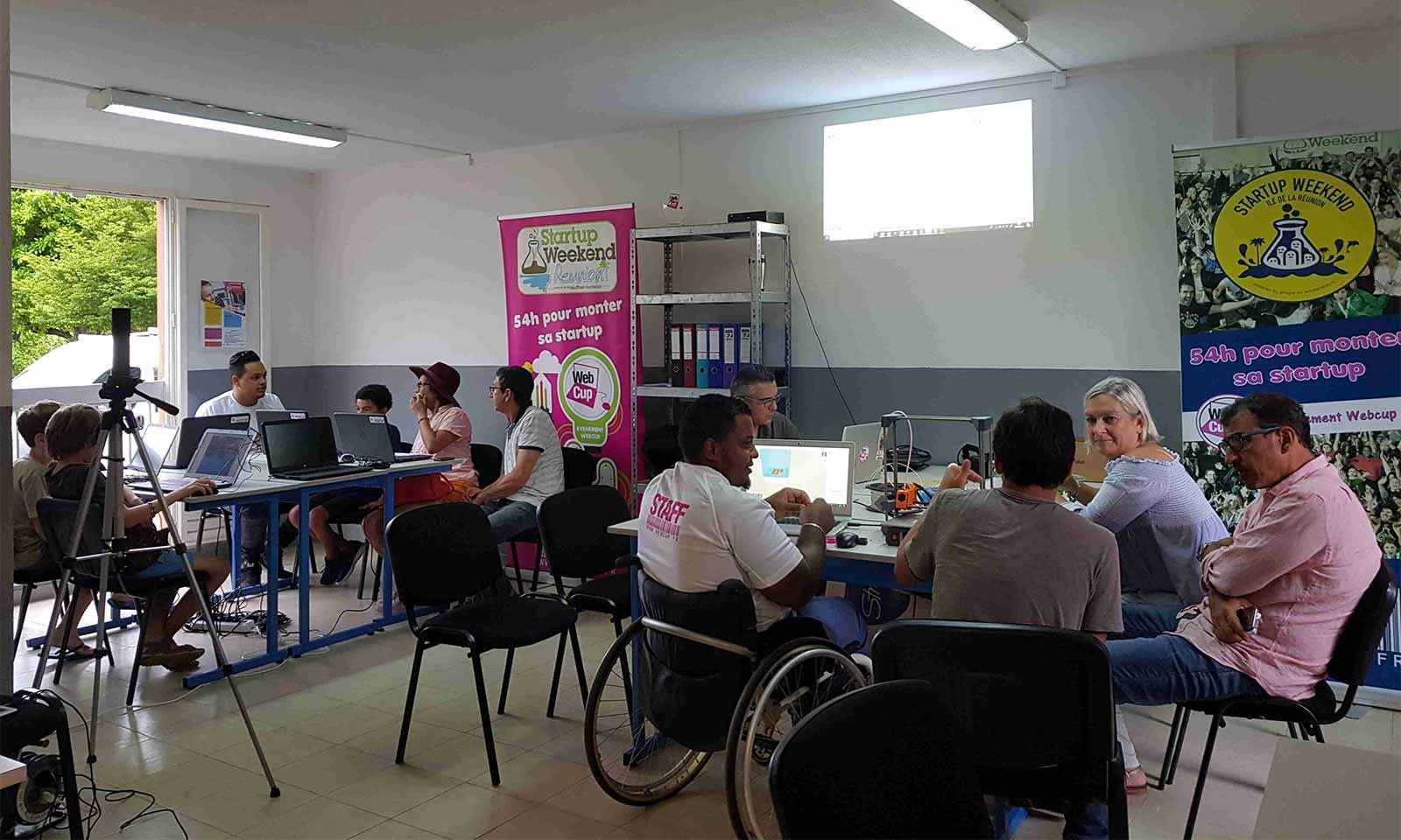 Association Webcup : ouverture d'un WebCup Campus à Saint-Pierre !