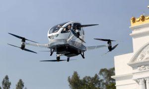 Taxi Drone : le mode de transport du futur relativement proche !