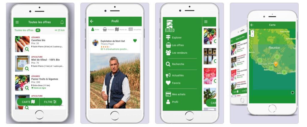 Eloléo, l'application mobile qui connecte producteurs agricoles et consommateurs !