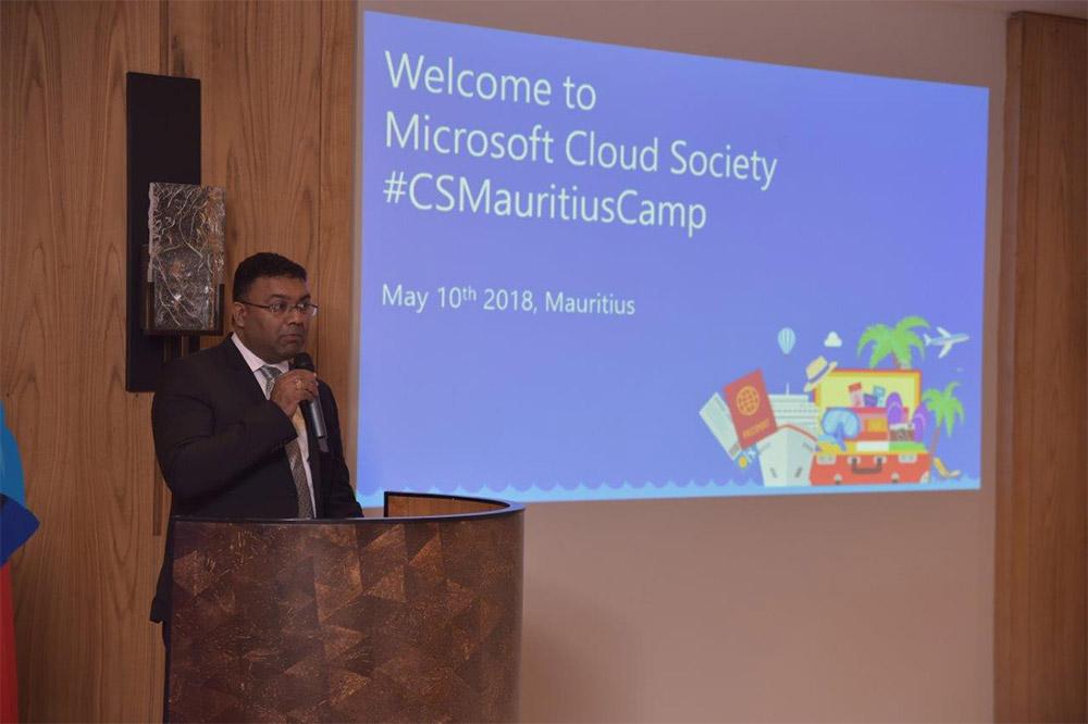 Maurice accueille le camp de Formation de Microsoft Cloud Society