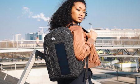 Rejig : le sac à dos qui recharge votre smartphone !