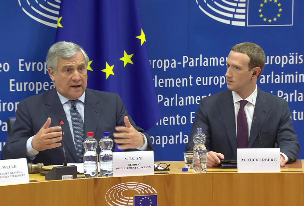 Parlement européen, Viva Tech 2018 : Mark Zuckerberg continue son « mea-culpa »…