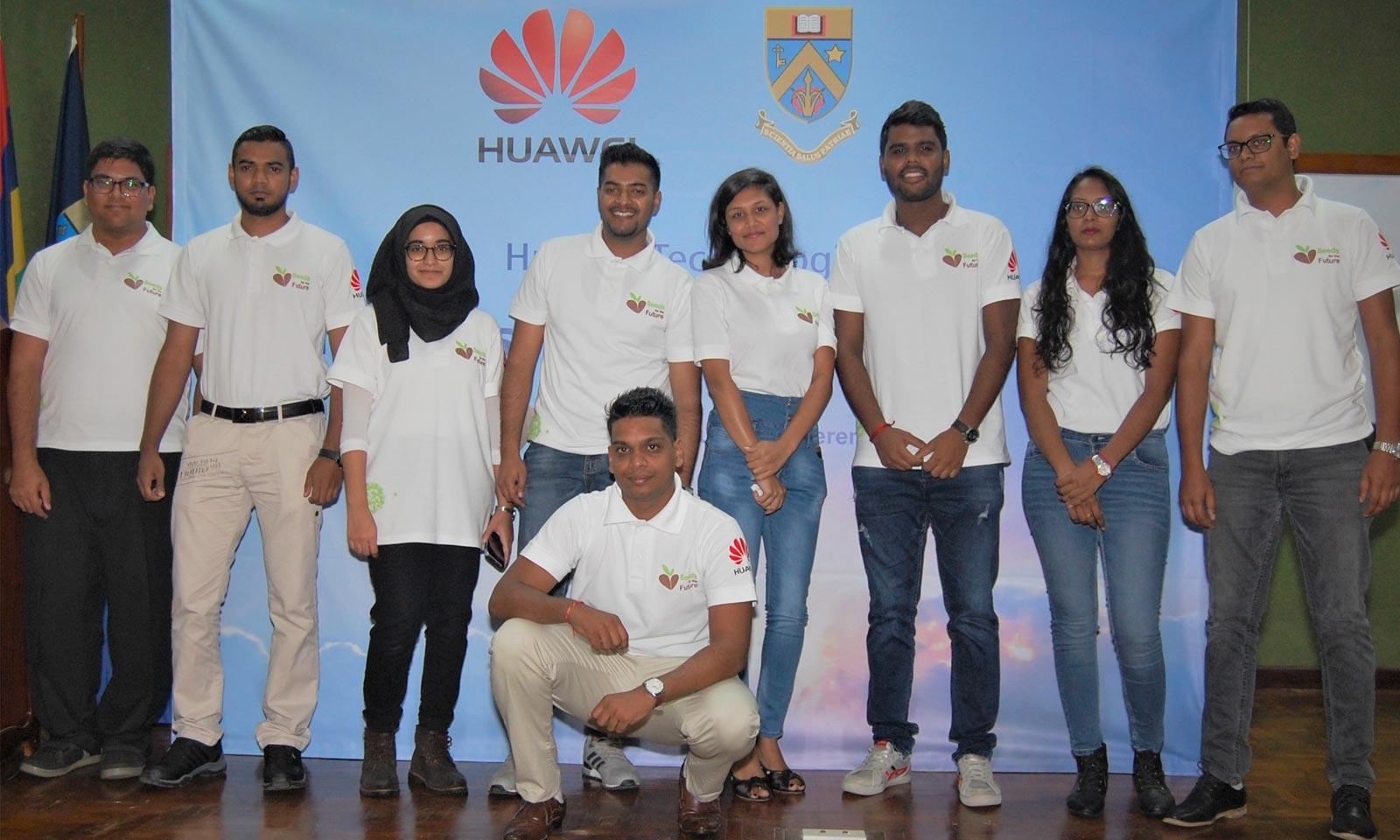 Huawei sème les graines d'un futur immergé dans la technologie !