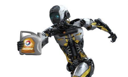 RobotQuartz pour les lubrifiants TOTAL QUARTZ