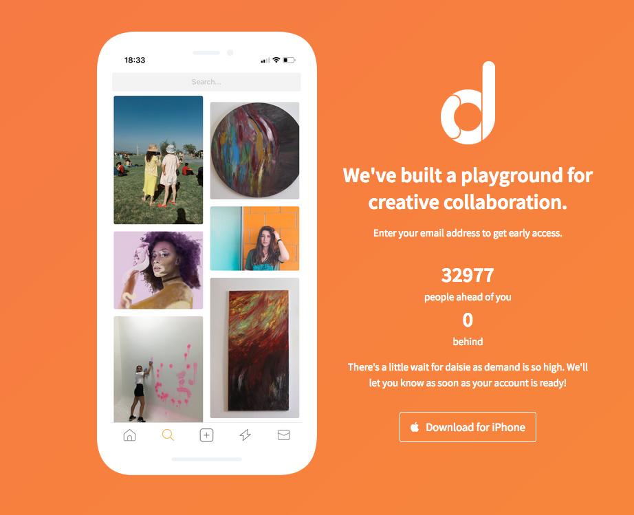 Daisie, le réseau social pour ceux qui ont la fibre artistique !