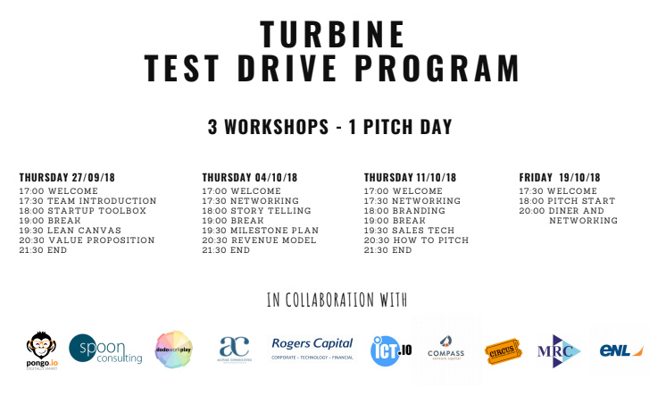Rapprochez-vous de votre rêve d'entreprendre avec La Turbine !
