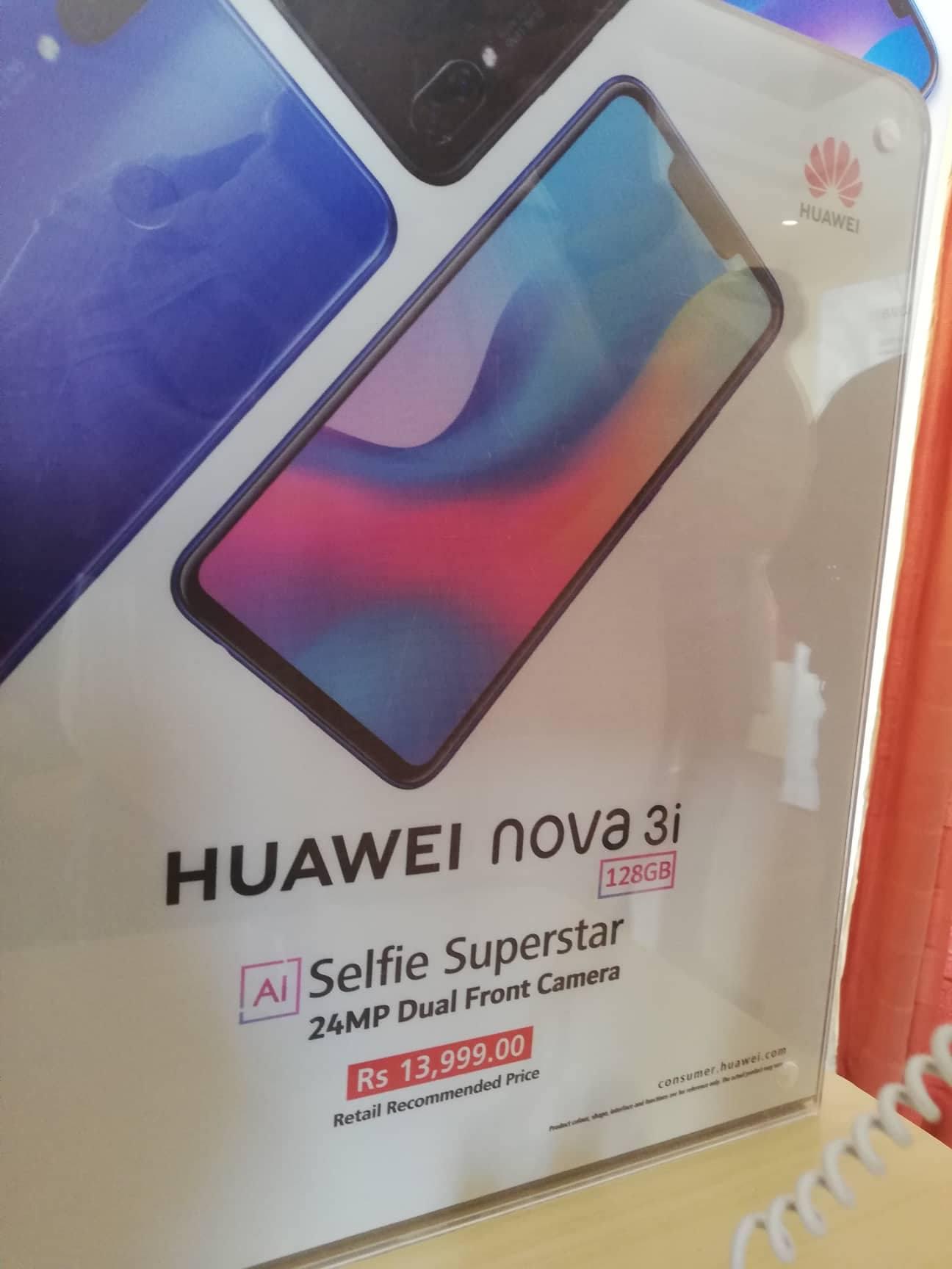 Le Nova 3i de Huawei fait son entrée à Maurice