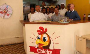 Miarakap investit 400 millions d'Ariary dans la chaine de fast-food Chicky