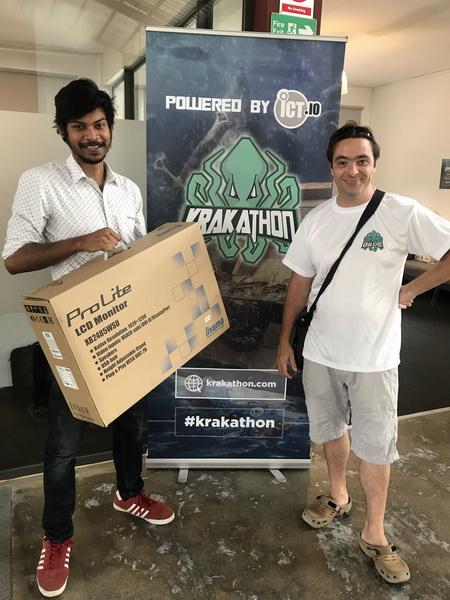 Krakathon 2018 : Rubiks combat le Kraken et repart avec le trésor !