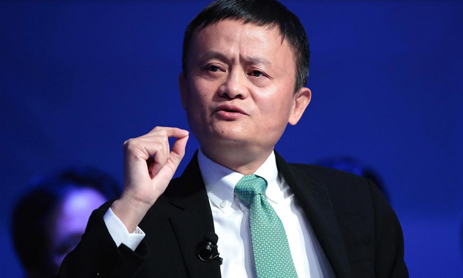 Jack Ma, fondateur du groupe Alibaba