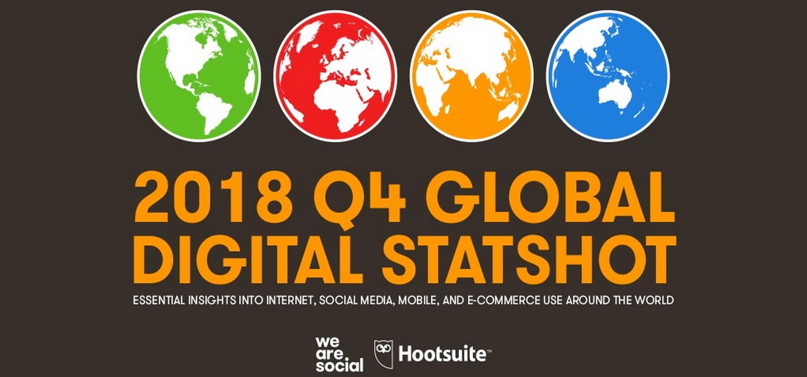 Hootsuite, en collaboration avec We Are Social, a publié son dernier état des lieux