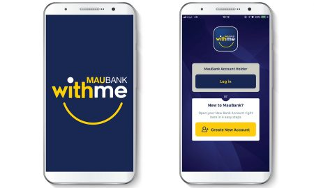WithMe, la nouvelle application mobile de MauBank
