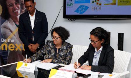 NextA accompagne les jeunes entrepreneurs malgaches