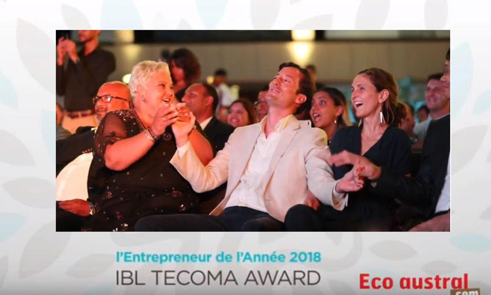Entrepreneur de l'Année 2018 : Christopher Rainer remporte l'IBL Tecoma Award