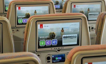 ice : le système de divertissement en vol primé d'Emirates