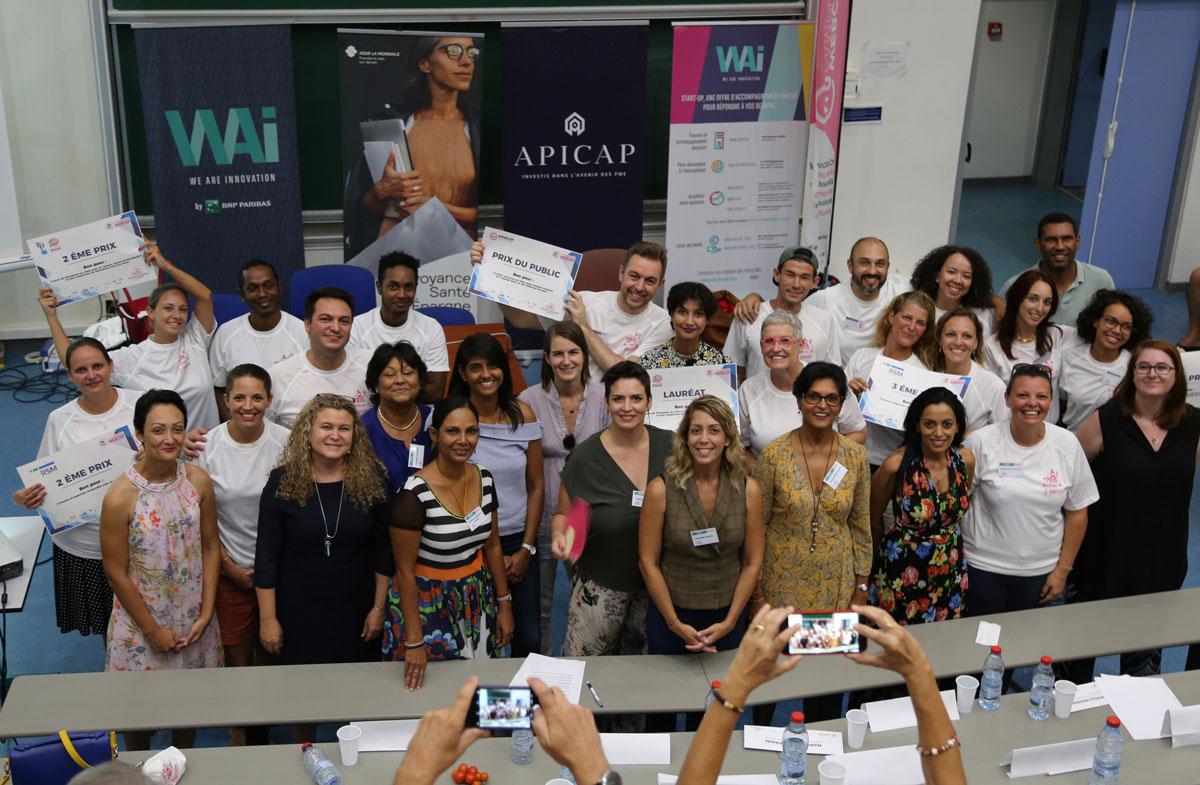 Les gagnants du Startupweekend O Féminin