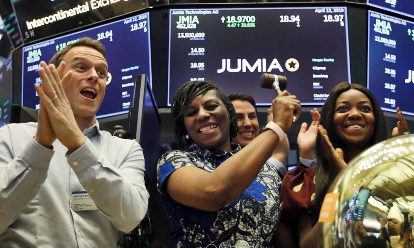 Jumia la startup africaine réussit son entrée à Wall Street