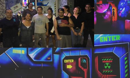 Le laser game de Fun Zone : victoire de l'équipe bleue