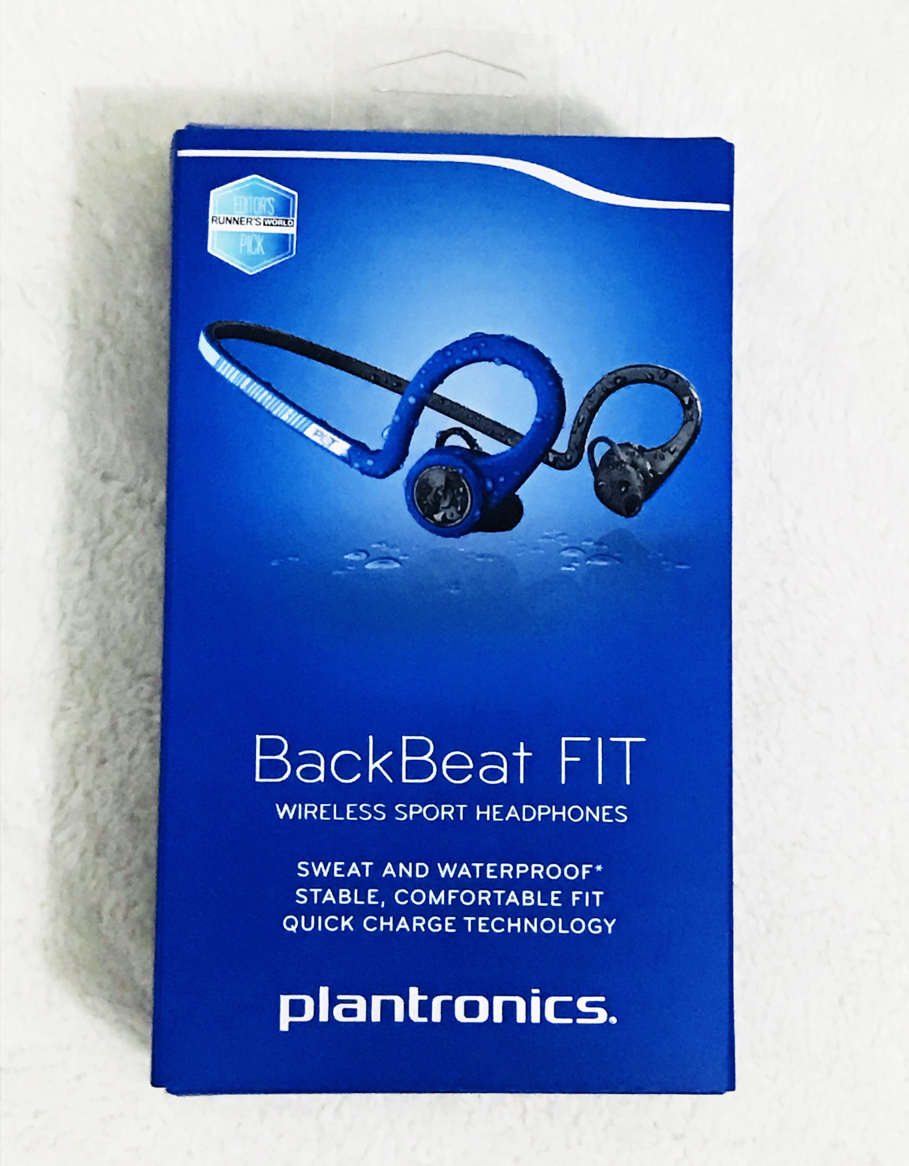 BackBeat Fit Blue