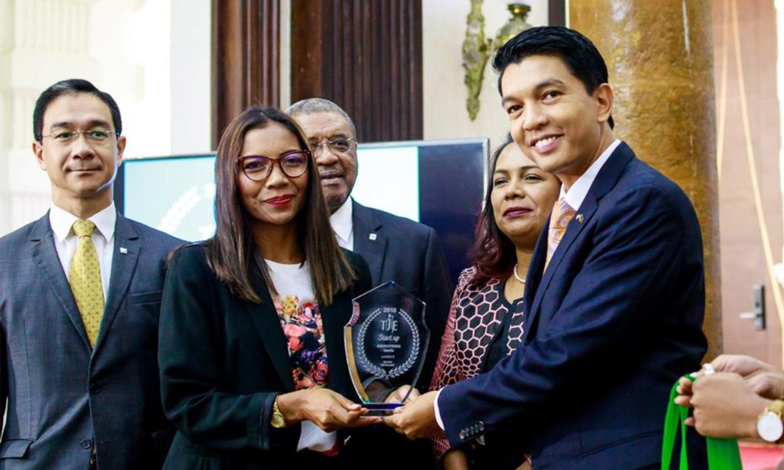 Jeune entrepreneur 2018 : le sacre de deux jeunes malgaches