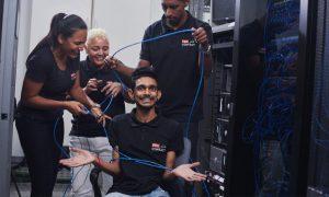 ProContact à l'île Rodrigues : le câblage réseau a déjà débuté