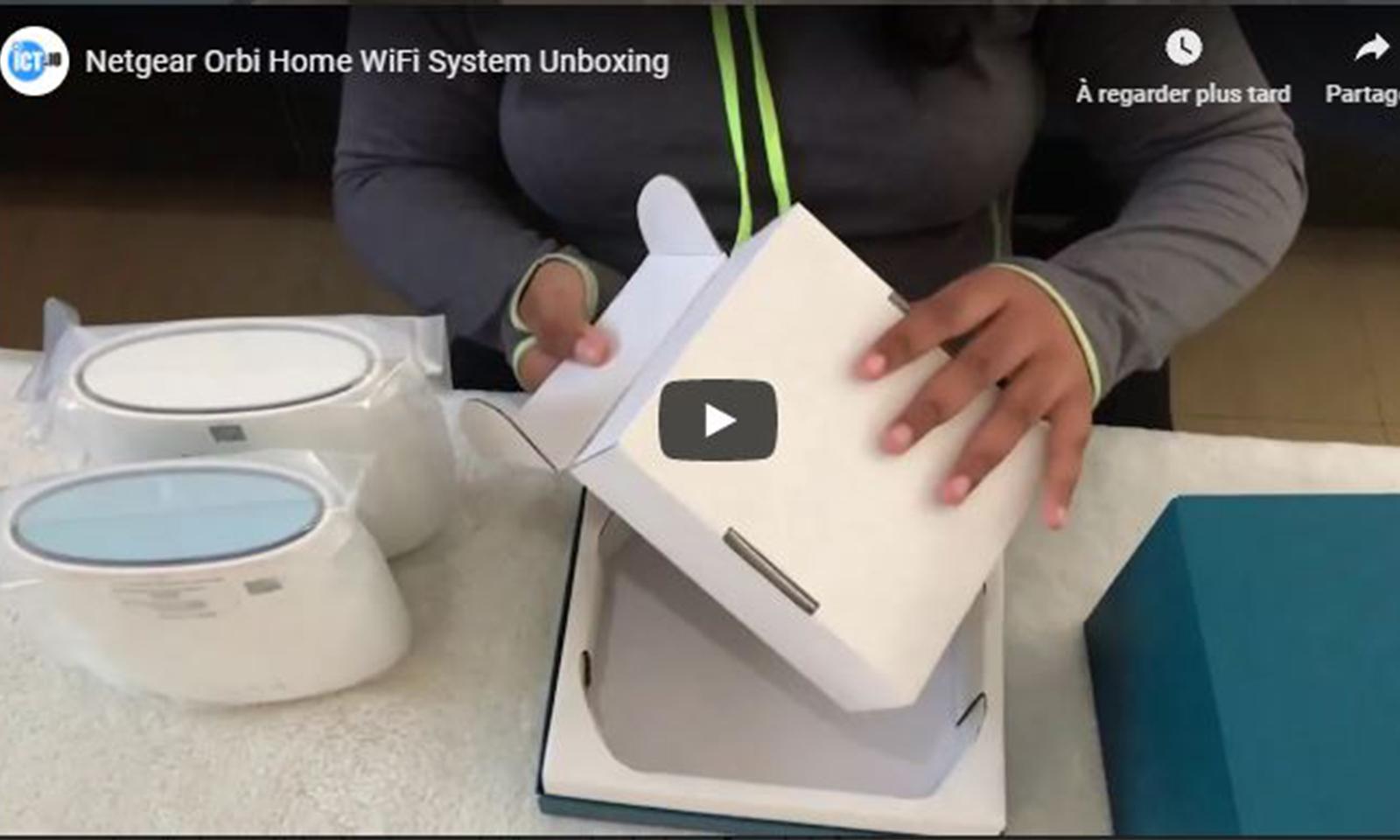 Netgear Orbi Home WiFi System Unboxing