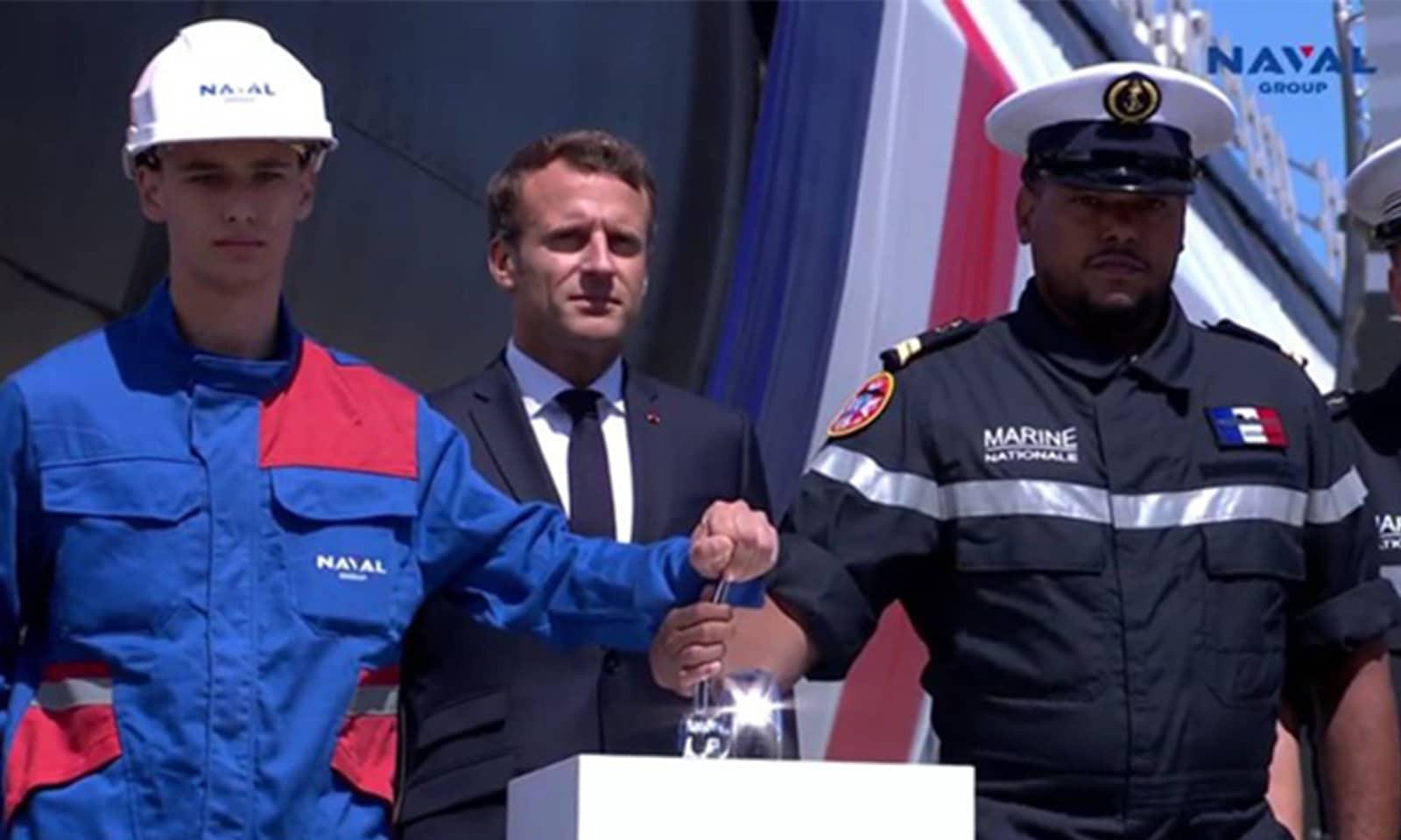 Le sous-marin Suffren accueille un Réunionnais à son bord