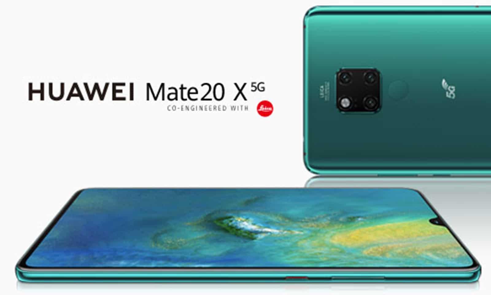 Huawei Mate 20 X 5G marque le début de l'ère de la 5G