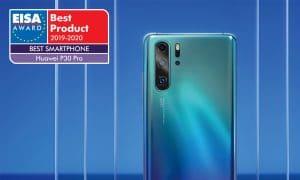 Le Huawei P30 Pro élu « Meilleur smartphone de l'année » par EISA
