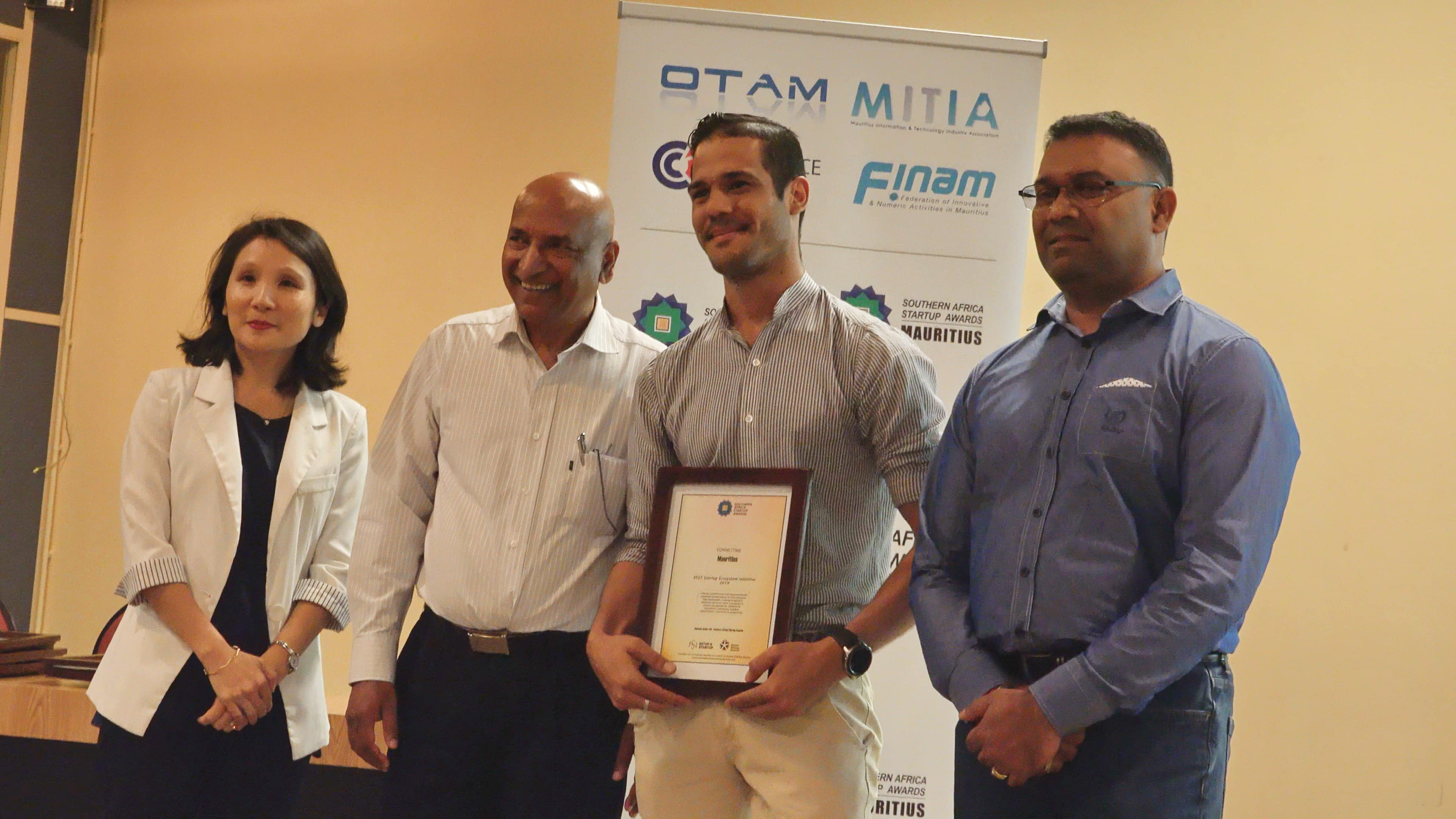 3.Best Startup Ecosystem Initiative – ConnectMe
