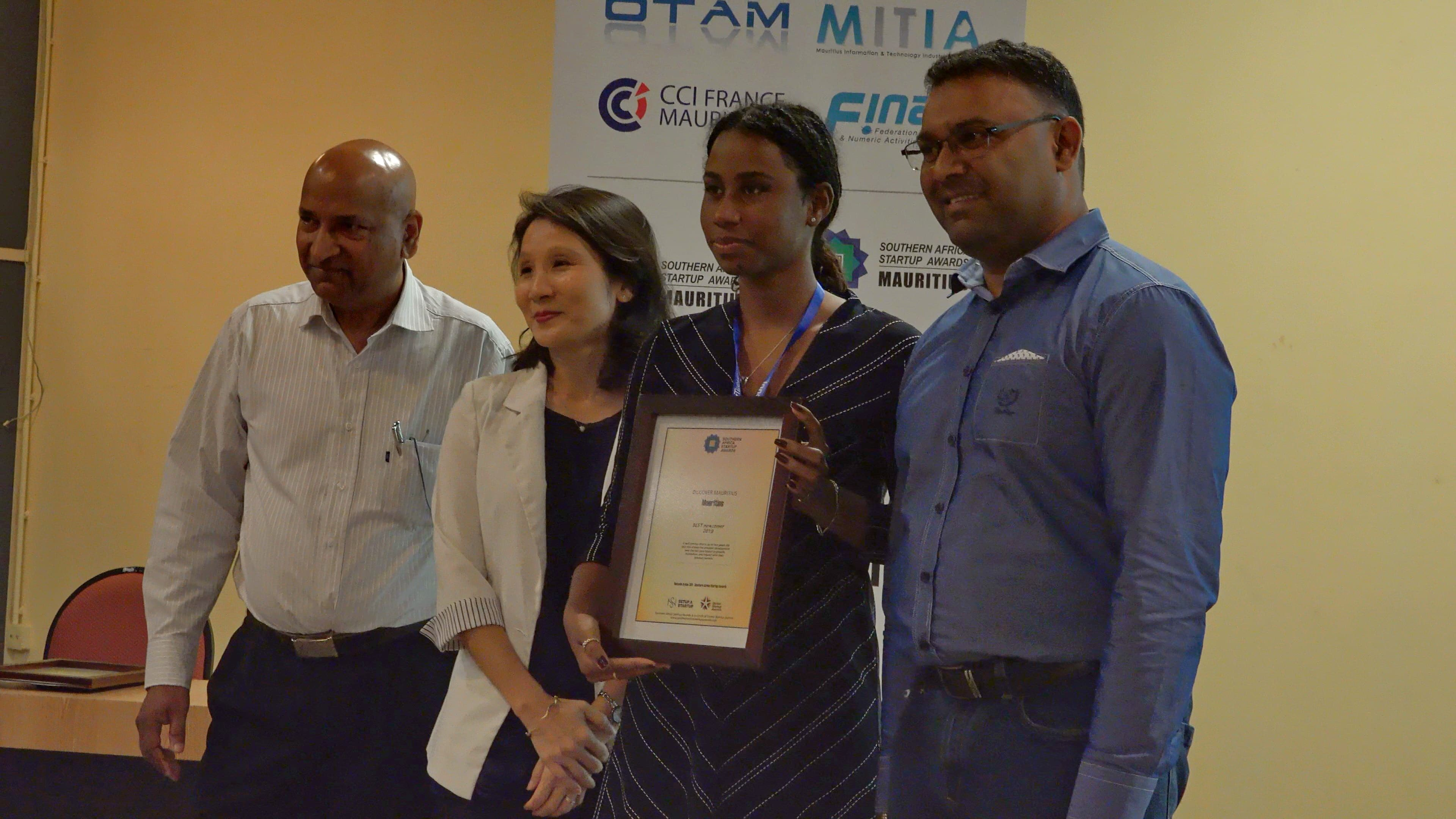 4. Best New Comer of the Year – DiscoverMauritius